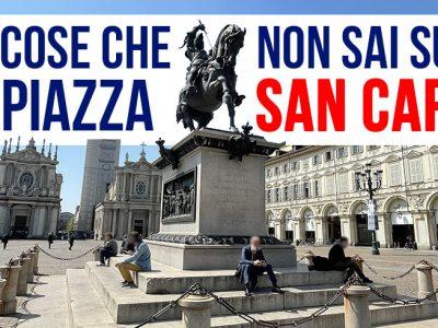 Curiosità piazza San Carlo
