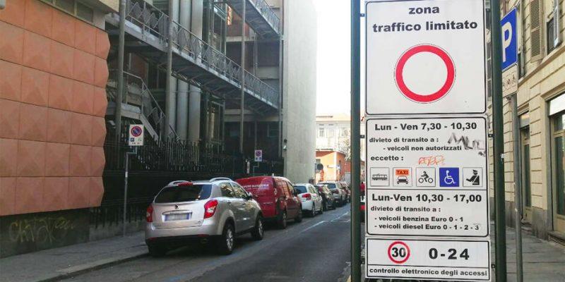 Ztl Centrale a Torino