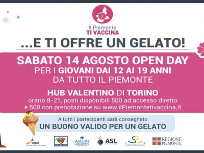 Open Day Valentino 14 agosto